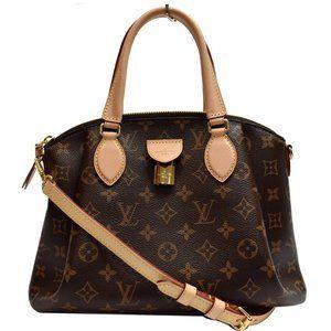 Louis Vuitton Rivoli Pm Monogram Canvas Handbag
